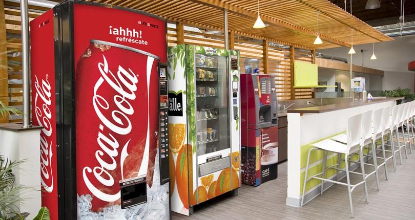 Máquinas de café y comida con AutoSnack