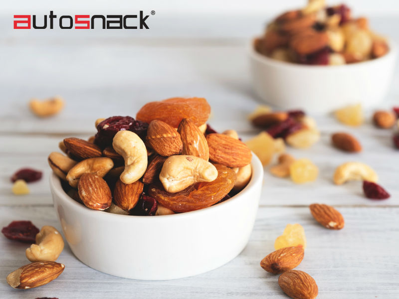 Consume snacks saludables con AutoSnack