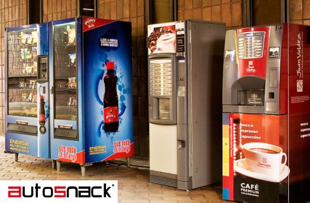 Maquinas vending en Colombia