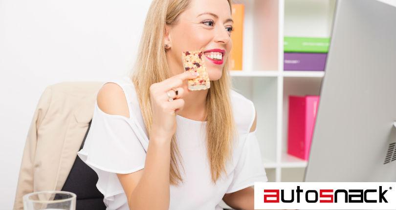 ¡Disminuye el apetito con snacks de máquinas dispensadoras!
